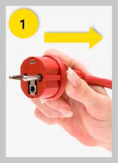 Paso 1. Desconectar algún electrodoméstico